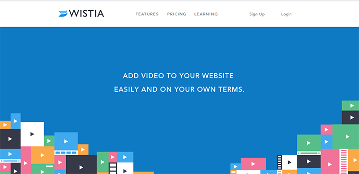 Wistia Design Inspiration - Contoh Desain Web Keren Landing Page