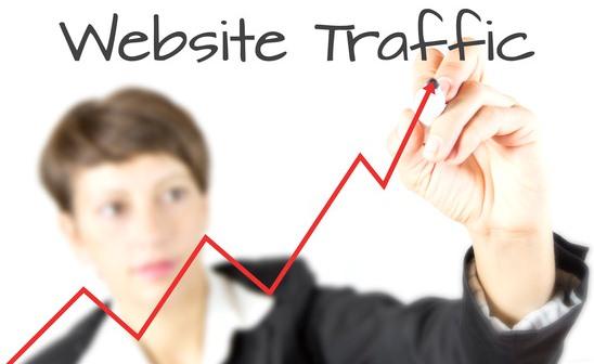 trafik pengunjung blog