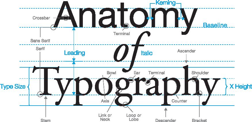panduan lengkap tipografi pemakaian font dalam web