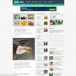 Realmag magazine blogger template