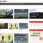videotube blogger template