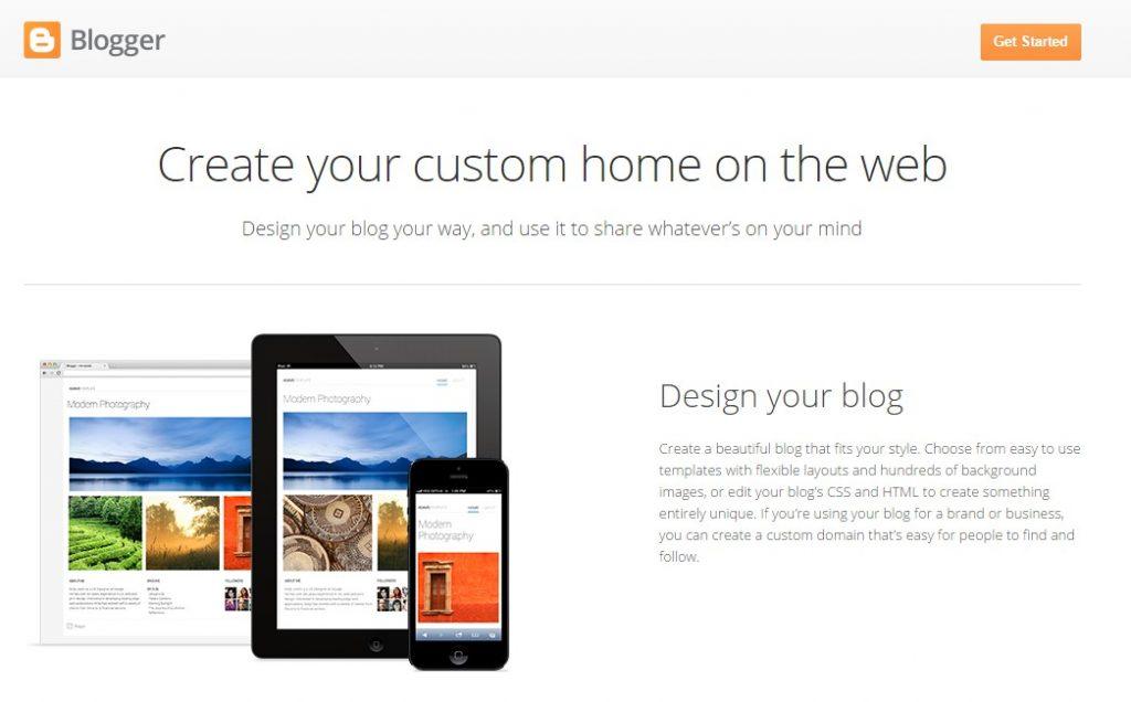 Blogspot Blogging platform