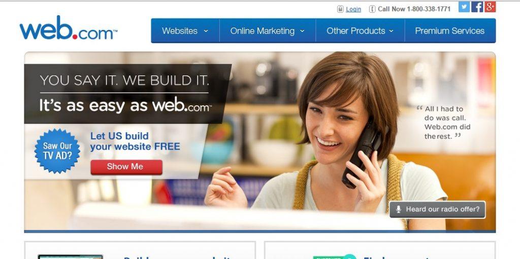 Web Website Builder