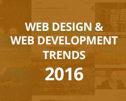 Web Design and Web Development Trends 2016