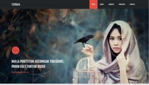 128Web HTML Website Template
