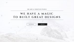 Dusty Creative Frontend Website