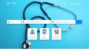 Insan Medika Landing Page