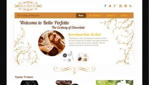 Desain web Bello Perfetto