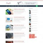 Angelo Magazine & blog blogger template