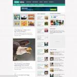 Realmag magazine blogger template