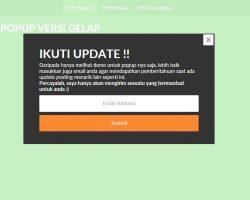 CSS3 popup