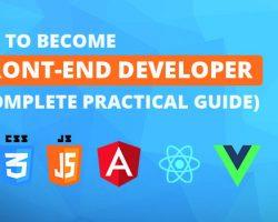 Become front-end developer