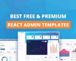 Best React Admin Template