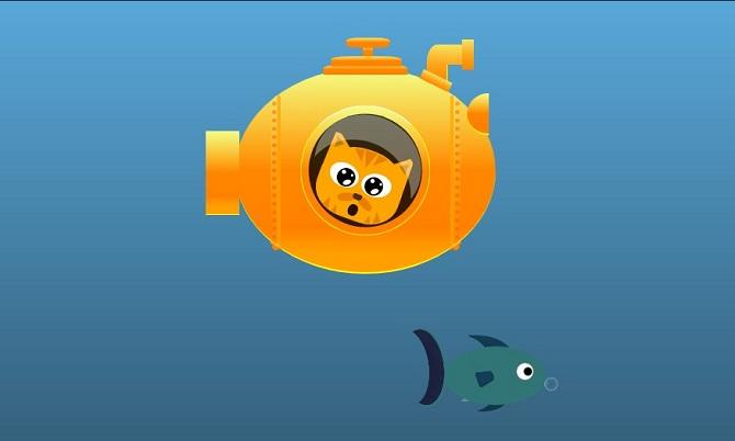 Kitti and the submarine