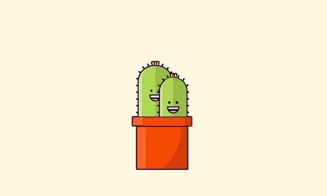 Pure CSS Cactus