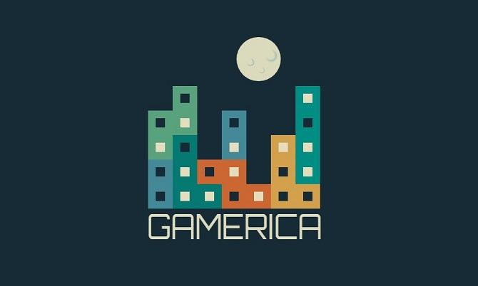 Pure CSS Gamerica Logo