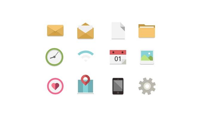 Single div icons