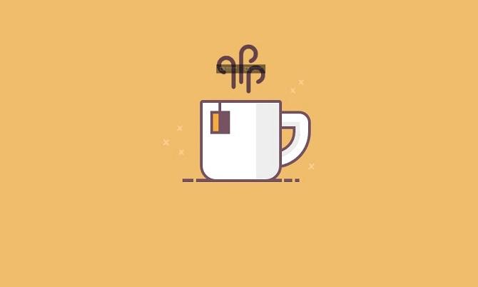 Single div tea cup