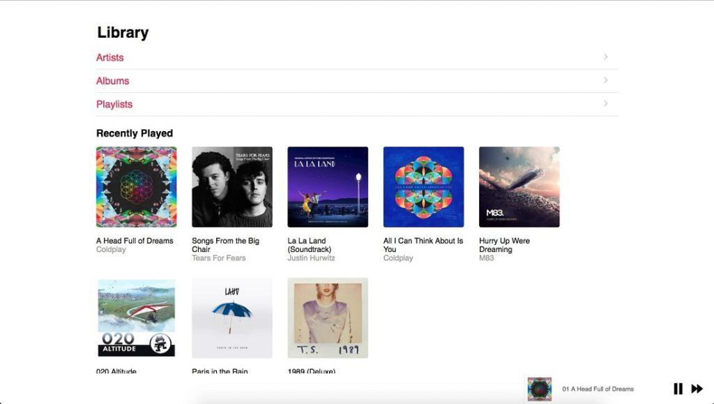 Apple Music Clone