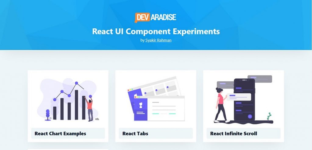 React Lab - UI Component Experiments