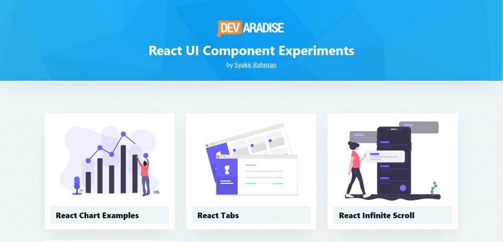 React Lab - UI Component Experiments