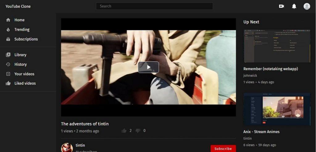 React Youtube Clone
