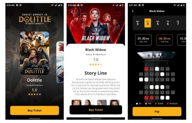 Movie Ticketing App